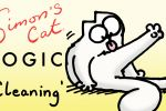 Simon's Cat Logic - How Do Cats Stay So Clean?