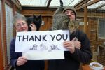 Thank You from Stray Cat Rescue!