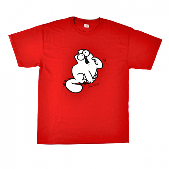 SIMON'S CAT 'FEED ME' T-SHIRT (STANDARD CUT)