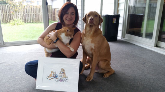 Lisa Harley Higgs Your Pet Drawn Photo