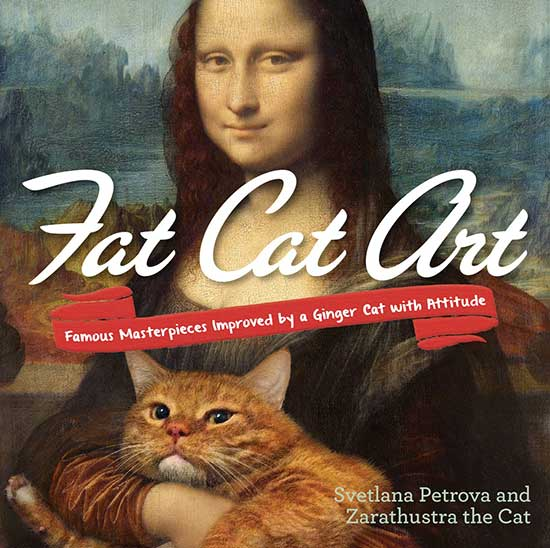 Smon's Cat Asks... Fat Cat Art book cover