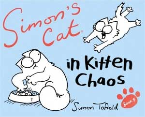 Simon's Cat in Kitten Chaos book cover