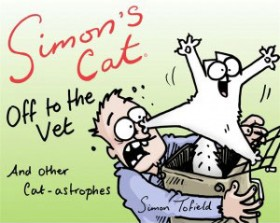 Simon's Cat Off To The Vet and Other Cat-astrophies book cover