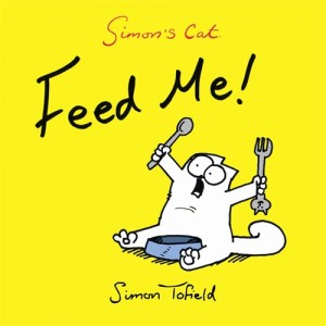 Simon's Cat: Feed Me! book cover