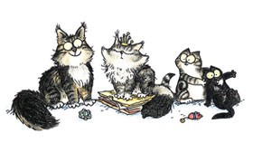 Winston Topaz Mondo Martin Your Pet Drawn Indiegogo Perk Simon's Cat Drawing