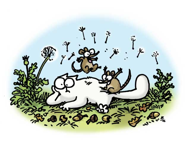 Simon's Cat - Fancy Rat And Mouse Day 2015